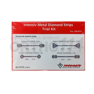 Intensiv Metal Diamond Strips Trial Kit